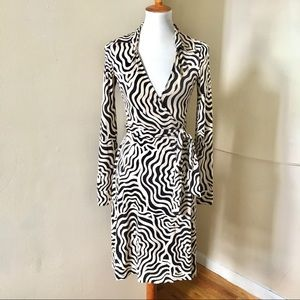 DVF Jeanne Vintage Reissue Silk Wrap Dress